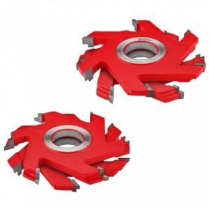 Zestaw frezów HM do deski podłogowej 0160x40x22-25/6z GLOBUS