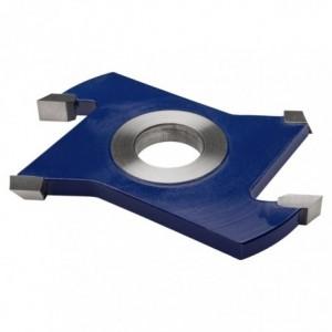 Frez HSS nasadzany prosty z nacinakami 0160x30x12/2z2n GLOBUS