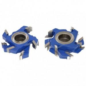 Zestaw frezów HSS do deski podłogowej 0140x40x28-45/4z ZFP.02 GLOBUS