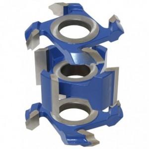 Zestaw frezów HSS do zaokrągleń i fazowania 0134x40x16-35/4z ZZF.01 GLOBUS