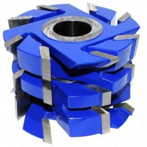 Zestaw frezów HSS do ścian drewnianych 0160x40x90-110/4z CL550-0160-0002 GLOBUS