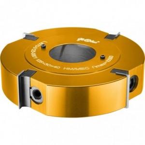 Głowica frezowa prosta składana 0125x35x40/4z GLOBUS