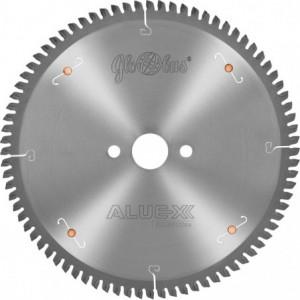 Piła HM ALUEX 0450x32x4,0/3,4/108z GA-5 COMBO+ do cięcia kształtowników z Al. i tworzyw sztucznych GLOBUS